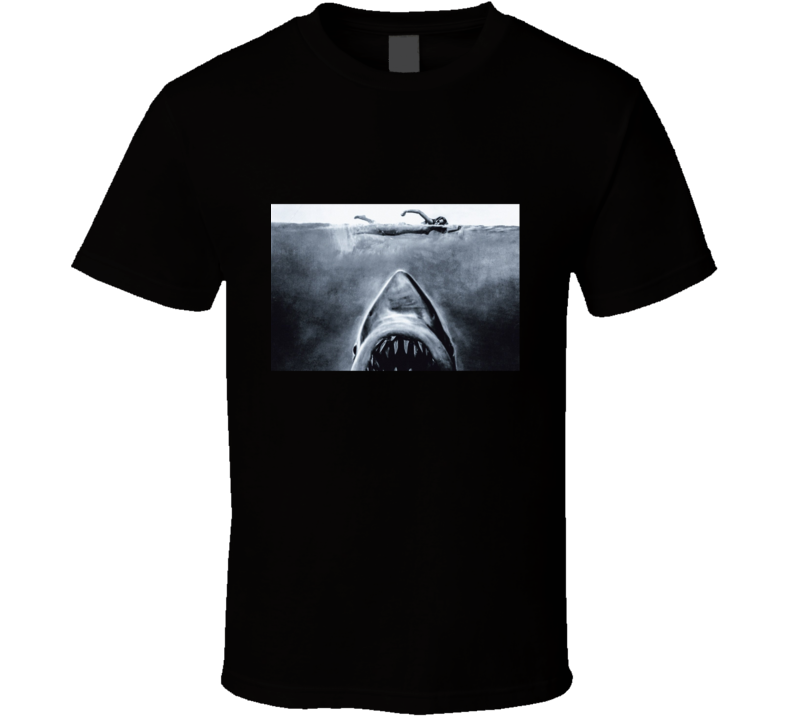Jaws (1975) Imdb Top 250 T Shirt