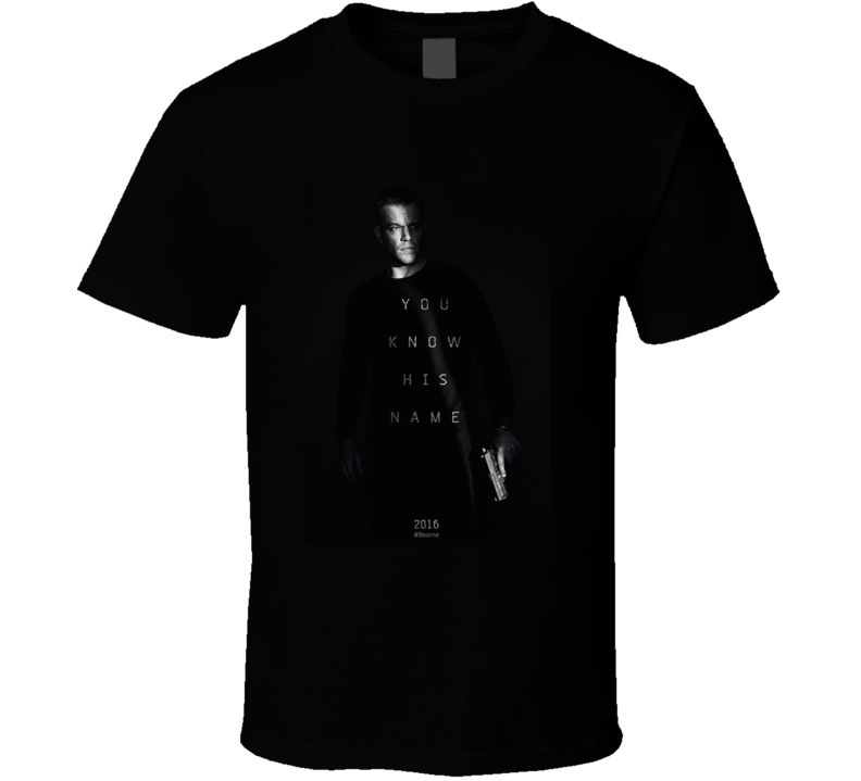 Jason Bourne T Shirt