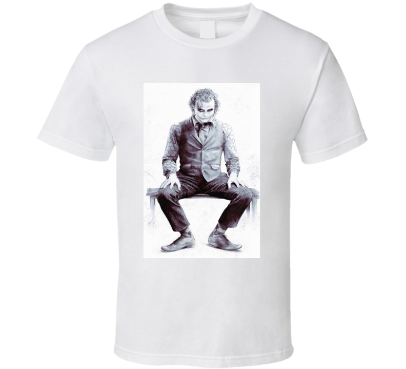Joker Batman Art T Shirt