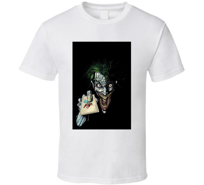 Joker Card Batman T Shirt