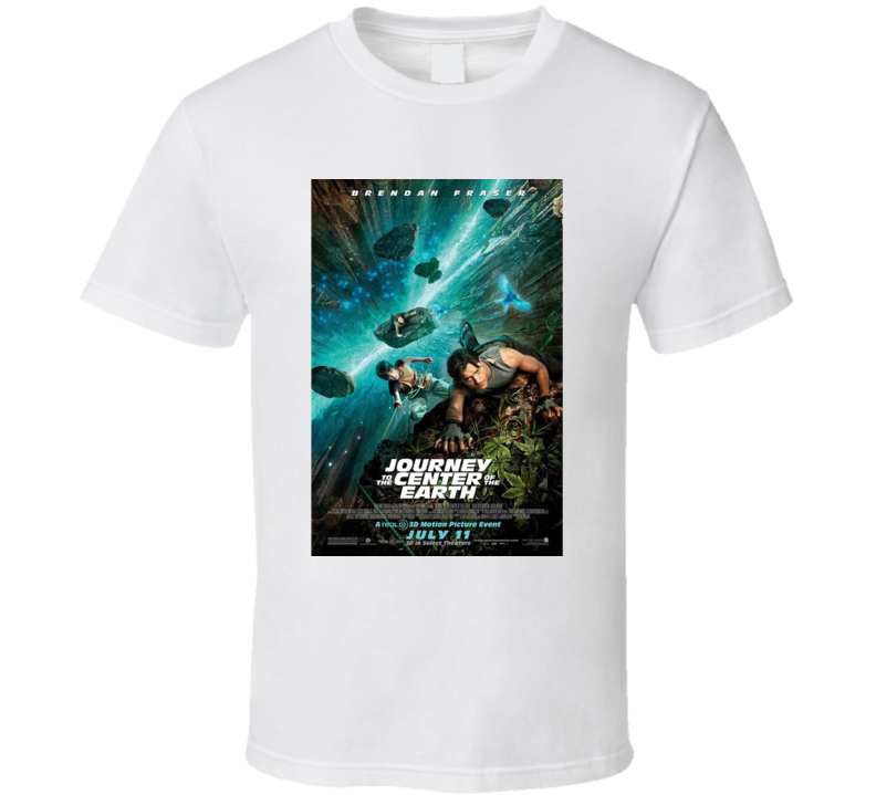 Journey To The Center Of The Earth T Shirt