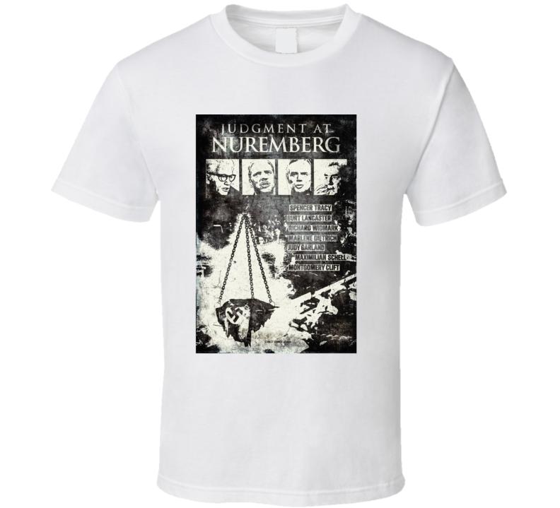 Judgment At Nuremberg (1961) Imdb Top 250 T Shirt