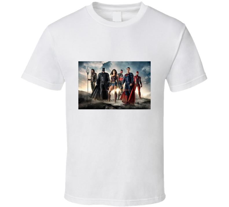 Justice League 2017 T Shirt