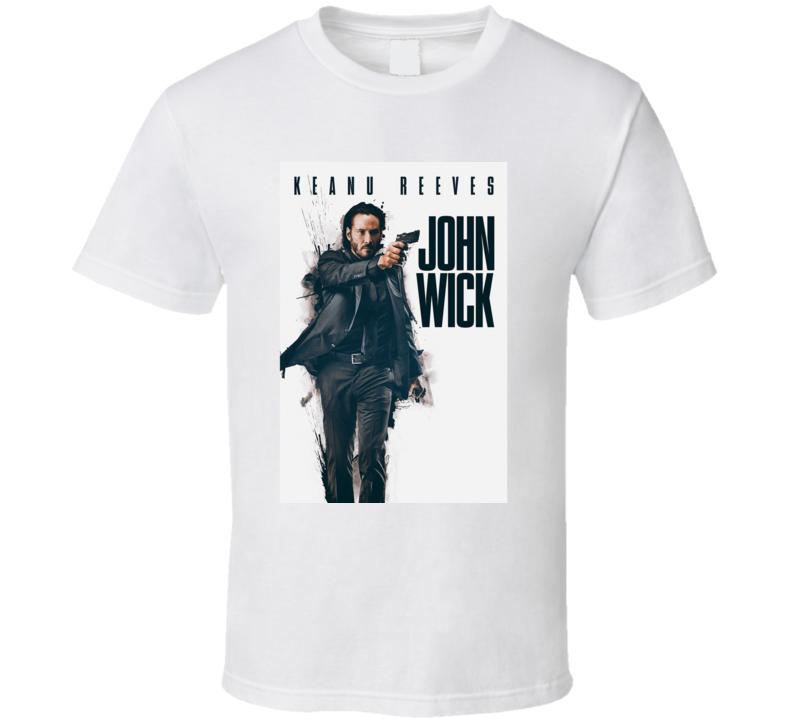 Keanu Reeves John Wick Movie T Shirt