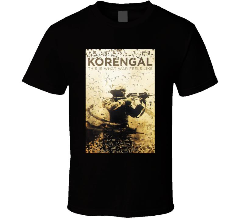 Korengal Movie T Shirt