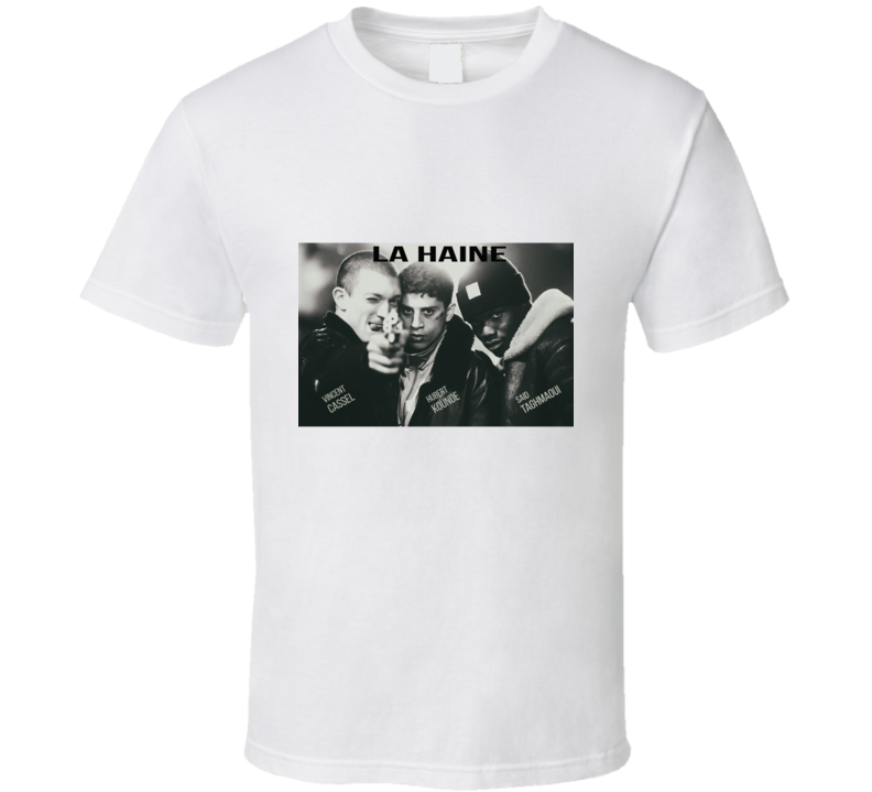 La Haine (1995) Film T Shirt