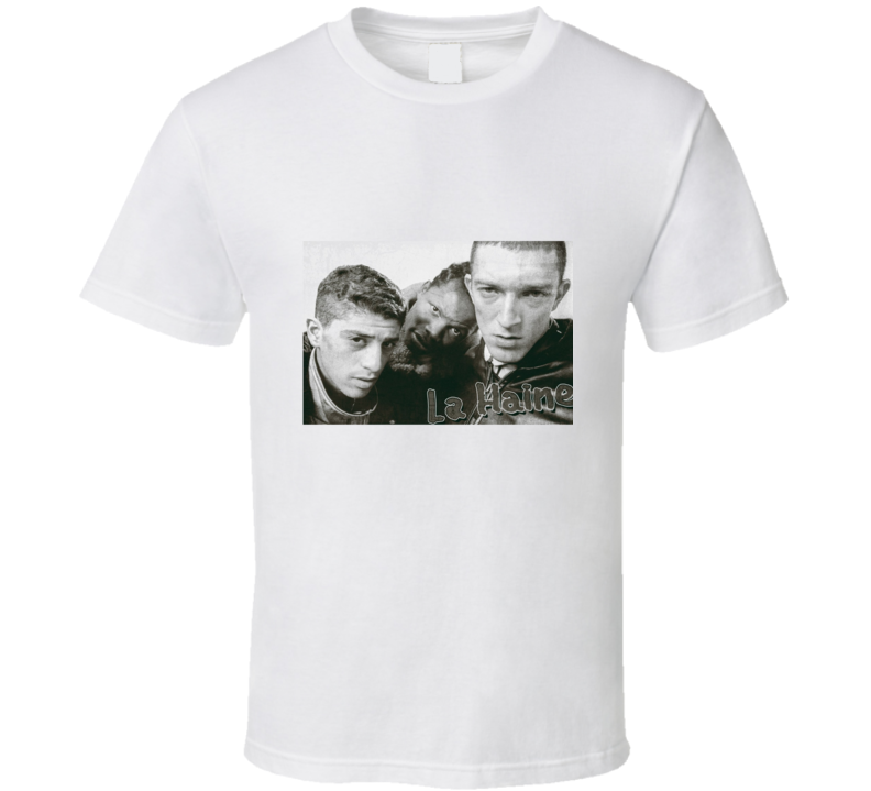 La Haine (1995) Imdb Top 250 Movie T Shirt