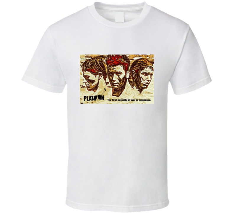 Platoon (1986) Film T Shirt