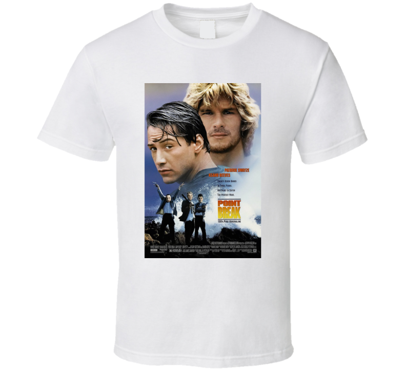 Point Break Movie T Shirt