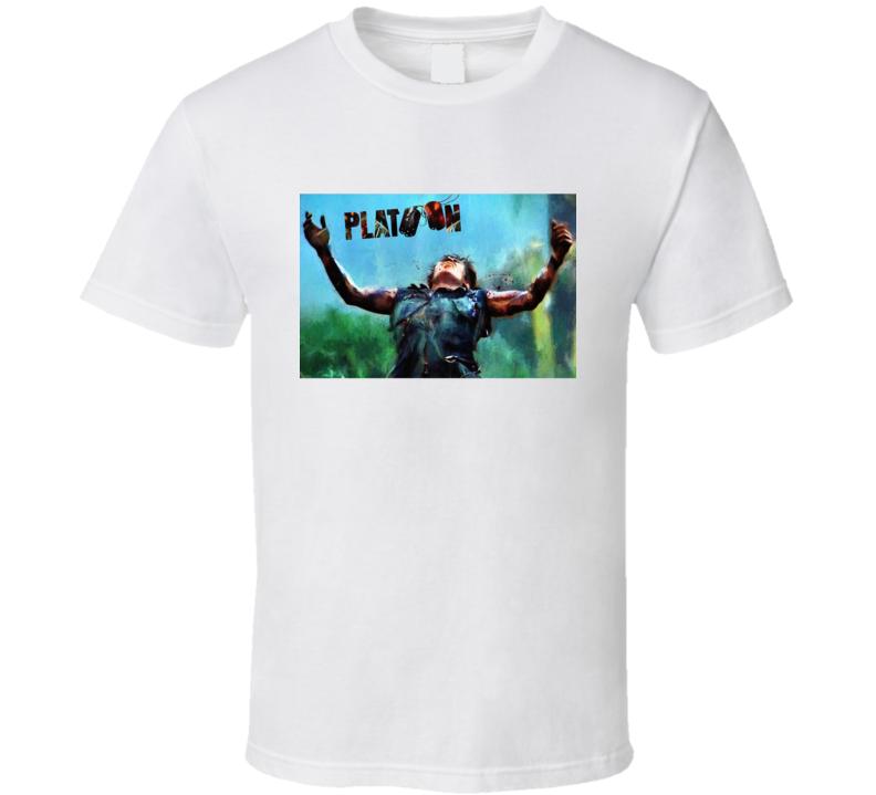 Platoon (1986) Movie T Shirt