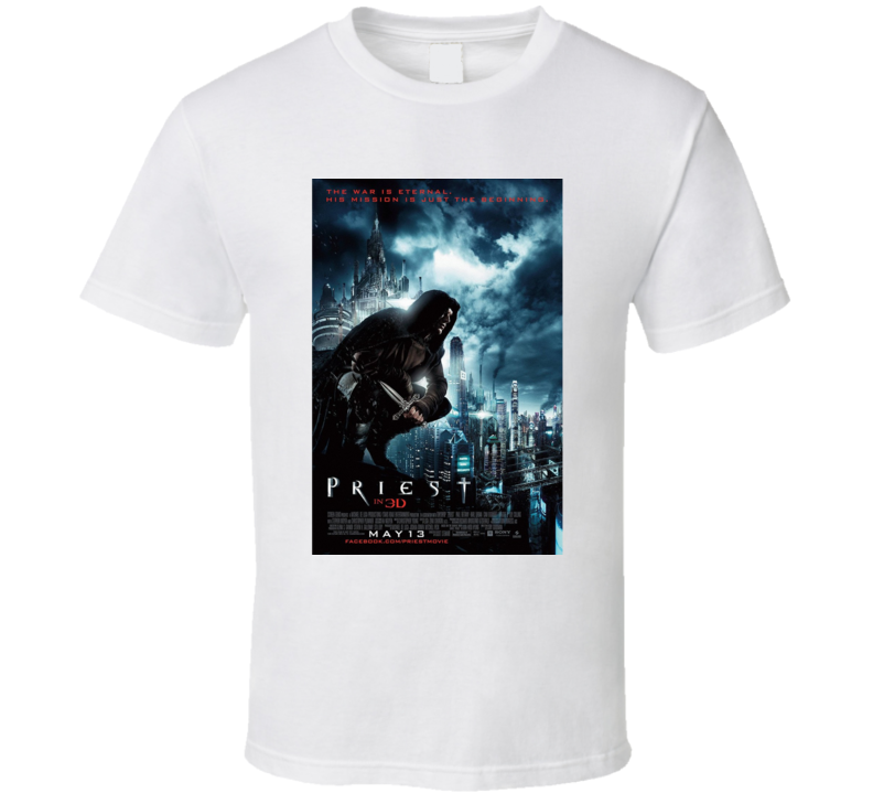 Priest Movie T Shirt