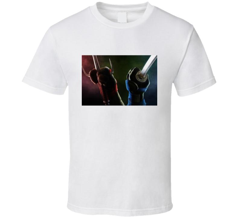 Raphael Leonardo Tmnt T Shirt