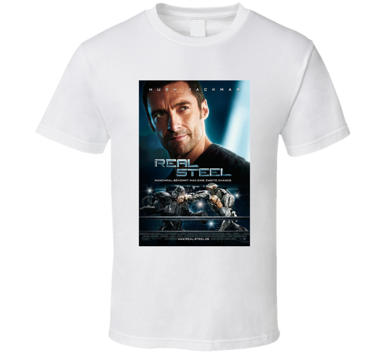 Real Steel Movie T Shirt