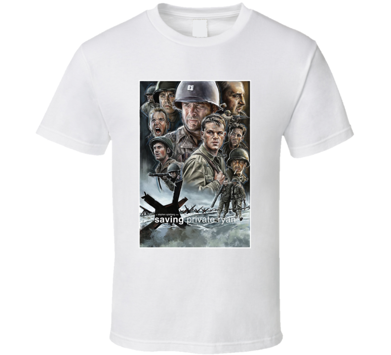 Saving Private Ryan Movie Fan T Shirt