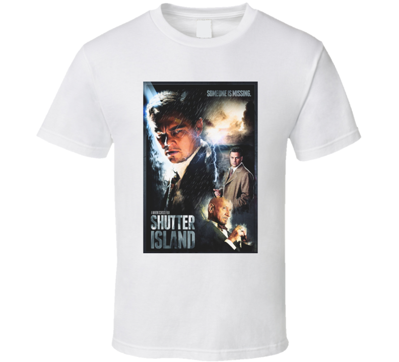 Shutter Island (2010) Movie T Shirt