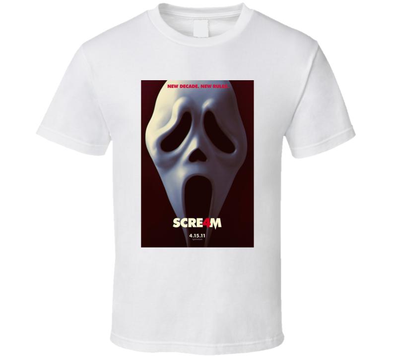 Scream 4 Movie T Shirt
