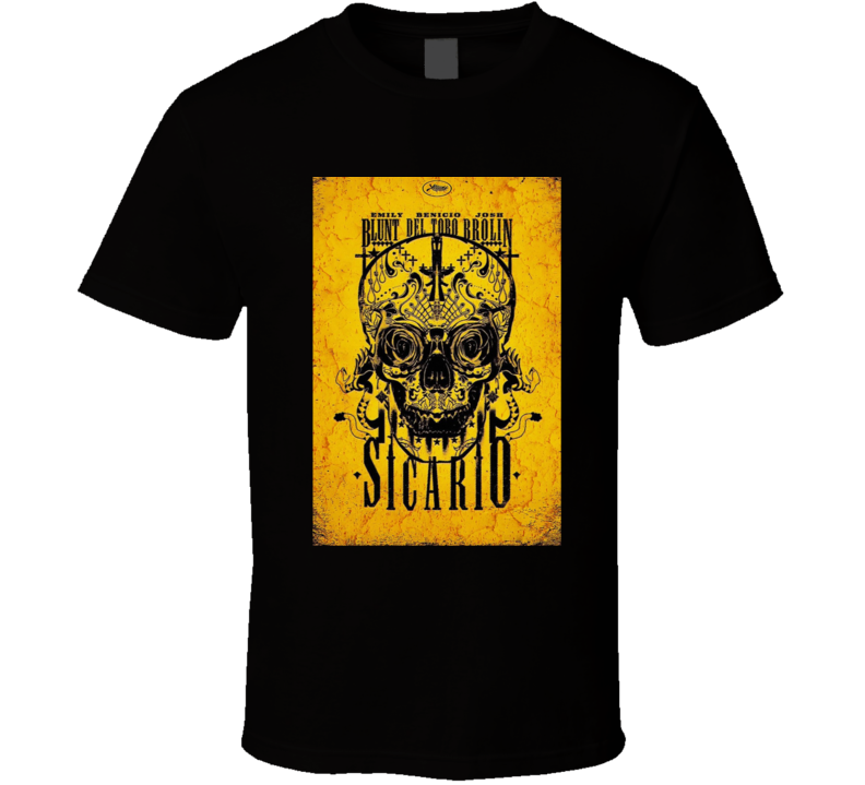 Sicario Movie T Shirt