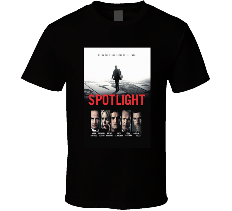 Spotlight (2015) Imdb Top 250 T Shirt
