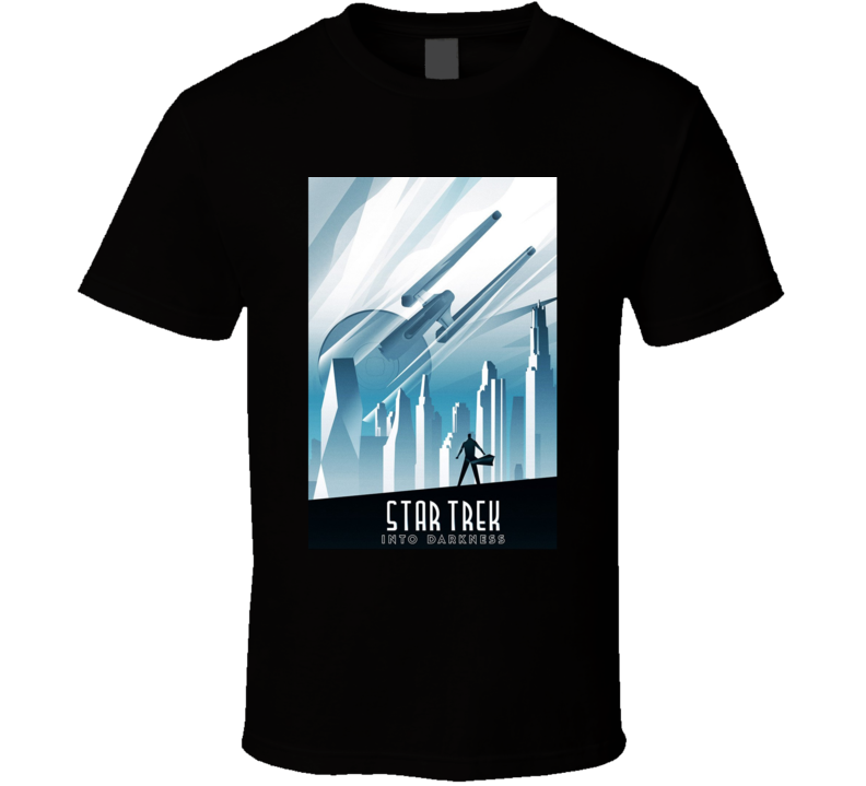 Star Trek Into Darkness Movie T Shirt