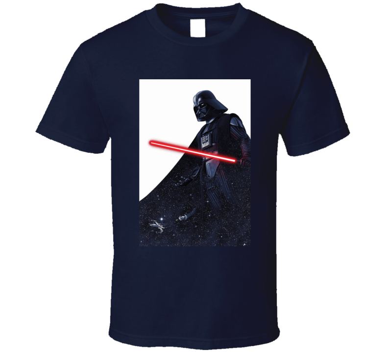Star Wars Darth Vader Lightsaber Movie Fan T Shirt