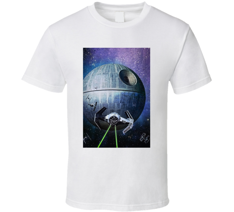 Star Wars Episode IV Spaceship Movie Fan T Shirt