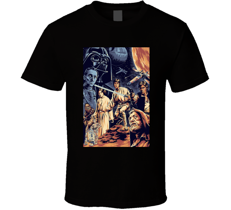 Star Wars Episode IV Movie Fan T Shirt