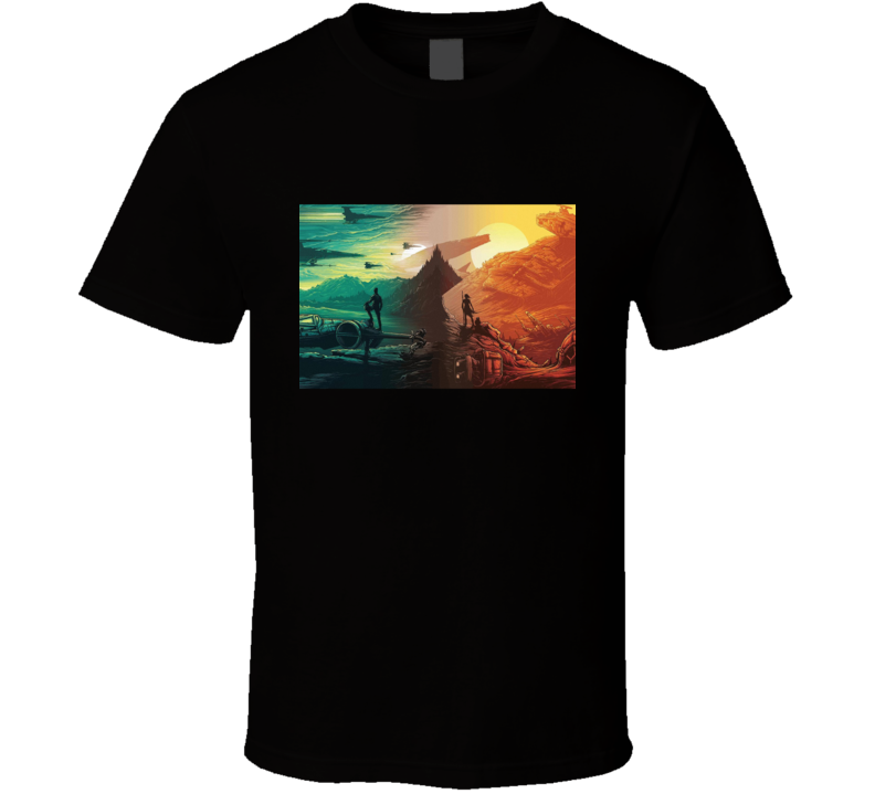 Star Wars Episode Vii - The Force Awakens T Shirt