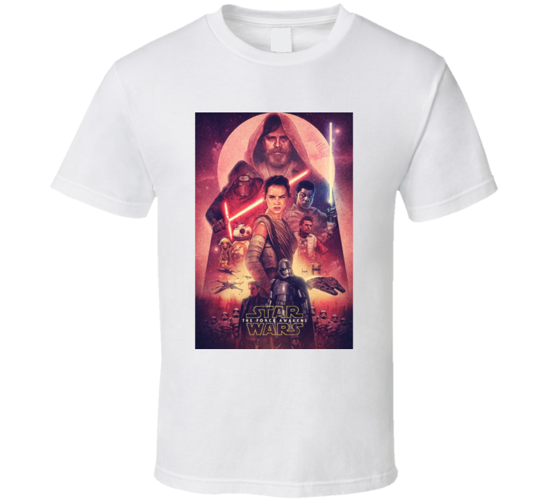 Star Wars Episode Vii Movie Fan T Shirt