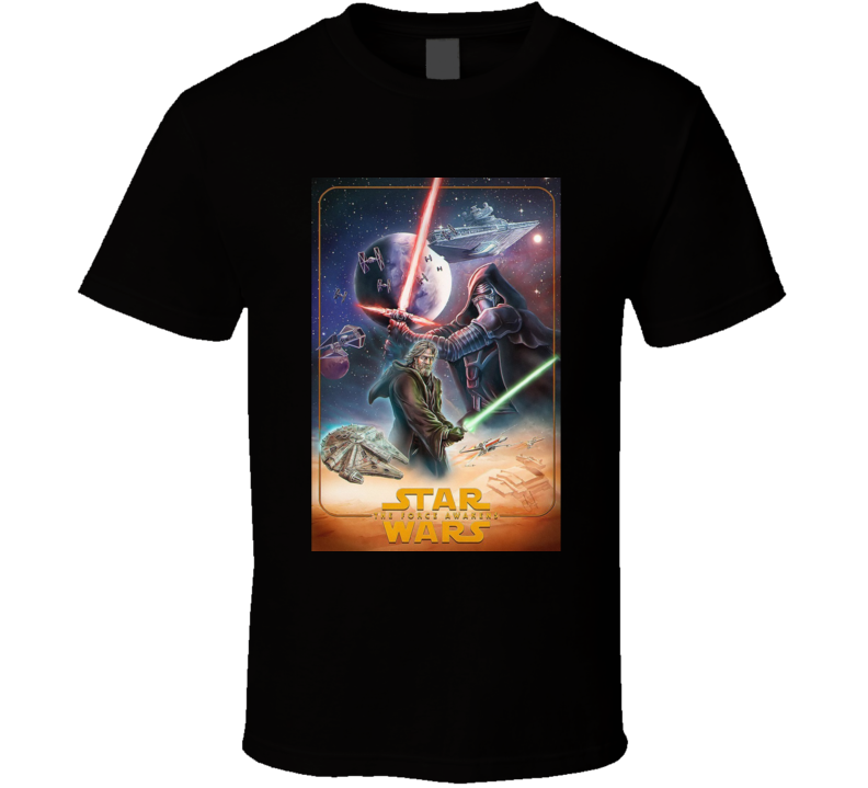Star Wars Episode The Force Awakens T Shirt