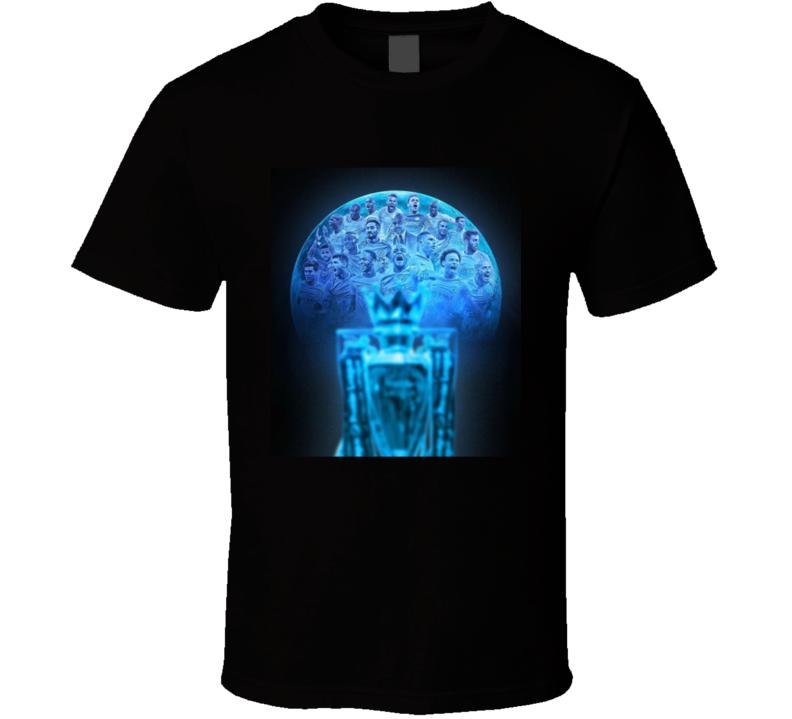 Manchester City Premiere Leage Champions T Shirt