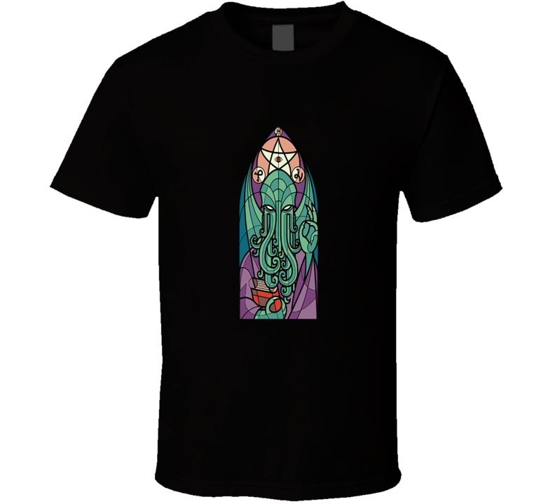 Cthulhu's Church T Shirt