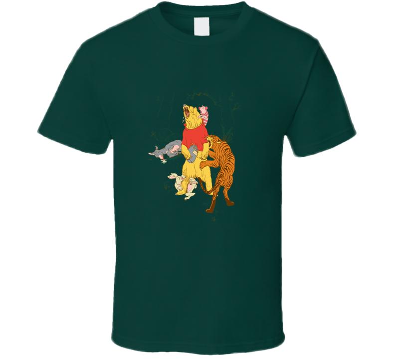 A Very Naughty Bear Winnie The Pooh T Shirt