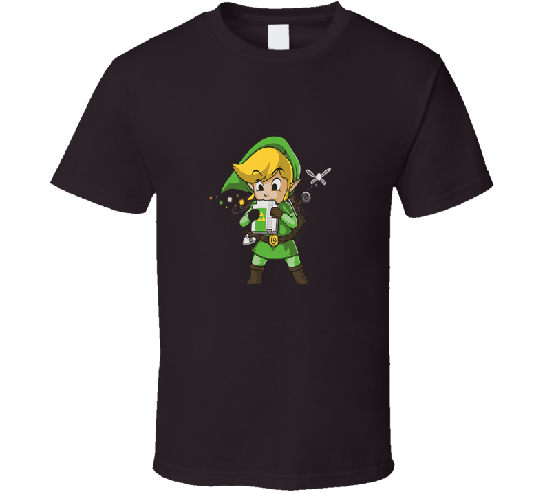 Blowing Bits Zelda T Shirt