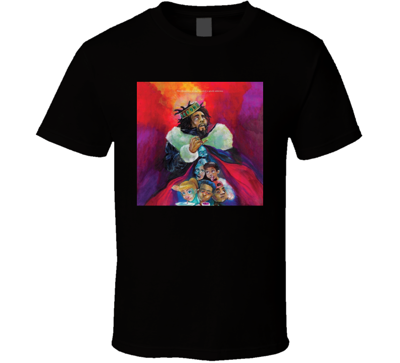 J. Cole - Kod Cover T Shirt
