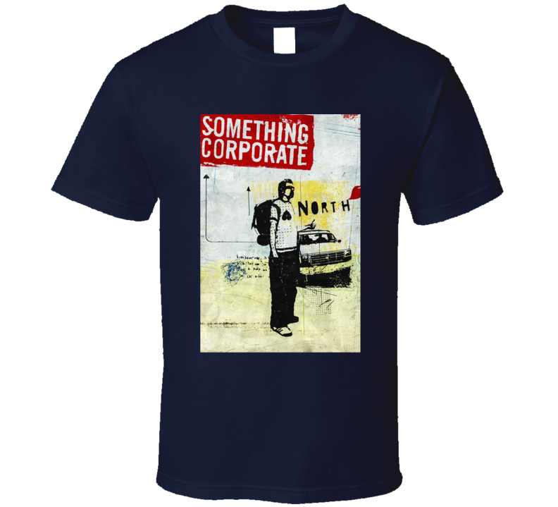 Something Corporate Pop Punk Band T Shirt
