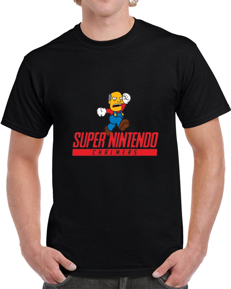 Super Nintendo Chalmers T Shirt