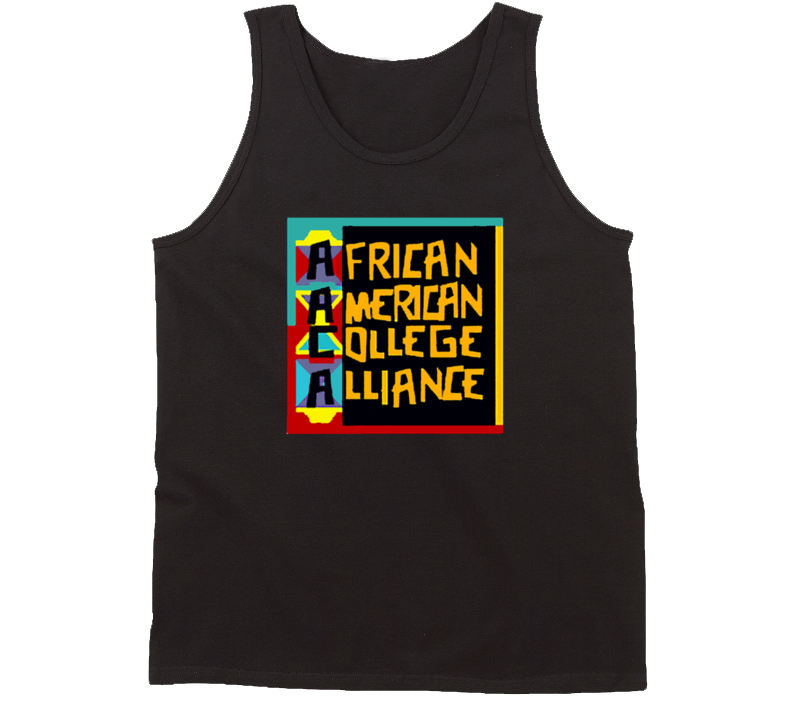 Aaca African American College Alliance Tanktop