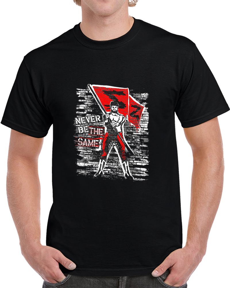 "Sami Zayn /""Never Be The Same/"" Authentic T-Shirt"