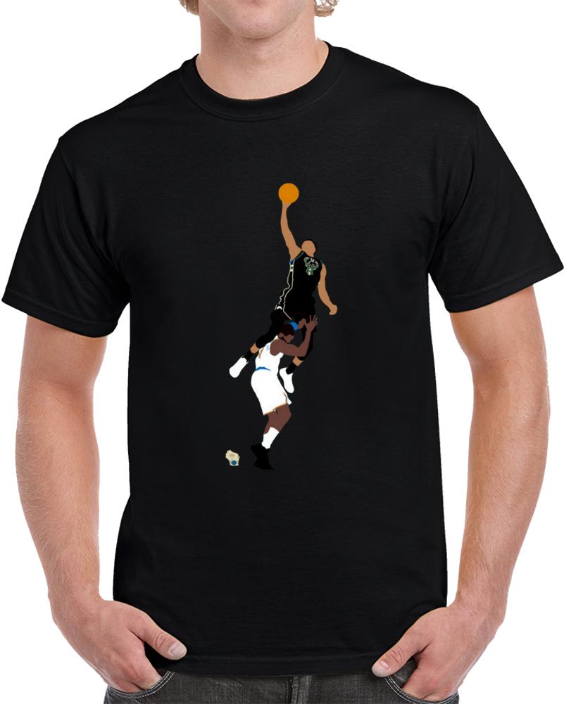 Giannis Dunk Over Hardaway T Shirt