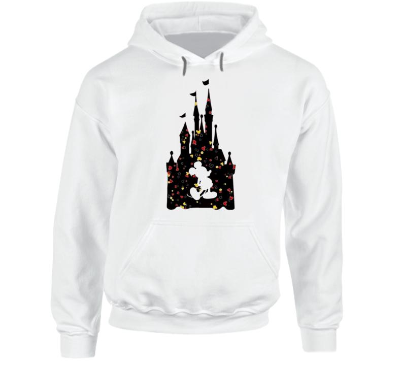 Mickey X Castle X Confetti Hoodie