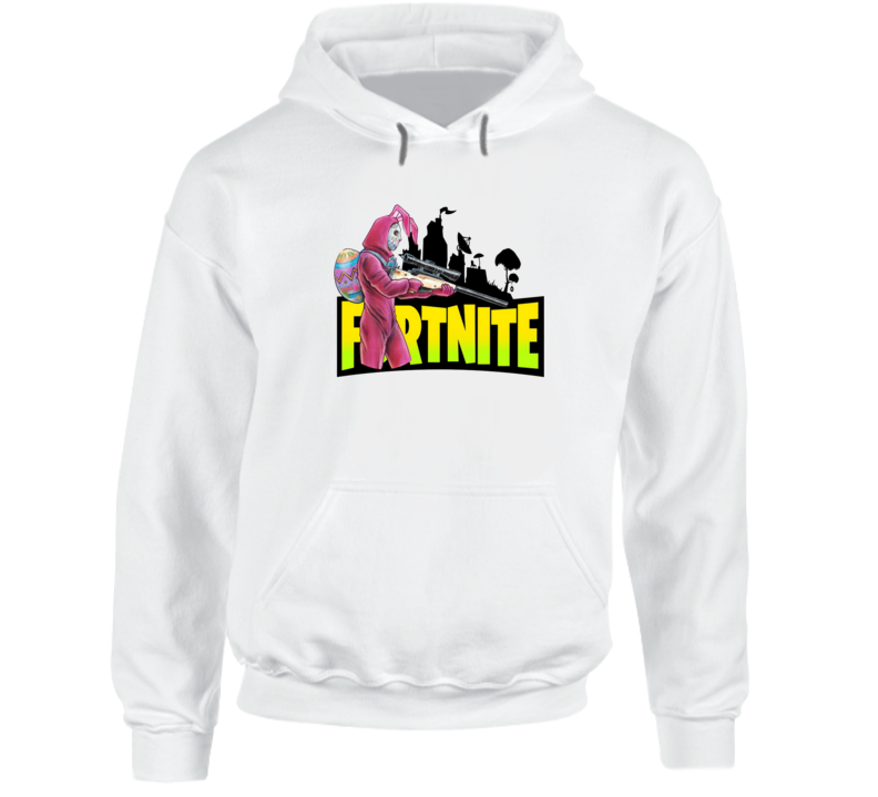 Rabbit Raider From Fortnite Game Hoodie