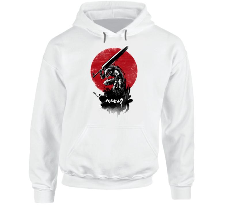 Red Sun Swordsman Hoodie