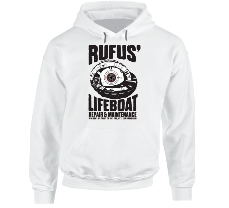 Rufus' Lifeboat Repair And Maintenance Hoodie