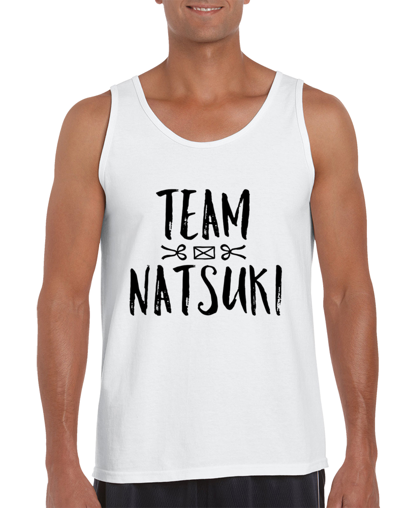 Team Natsuki Ddlc Tank Top