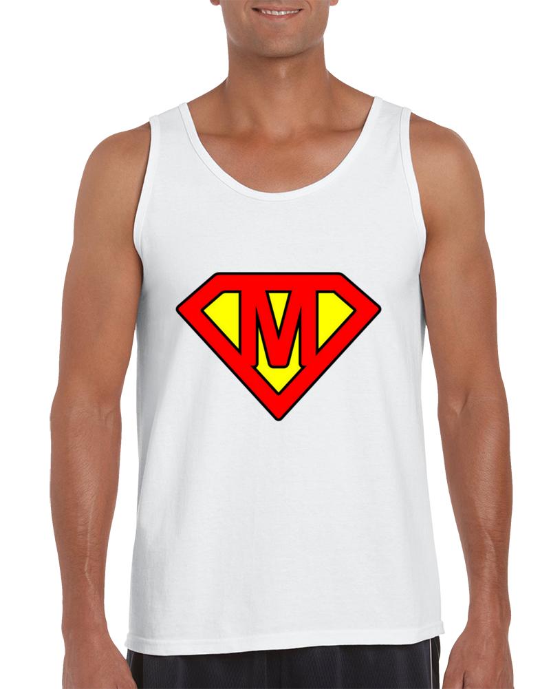 Superman Letter M Tank Top