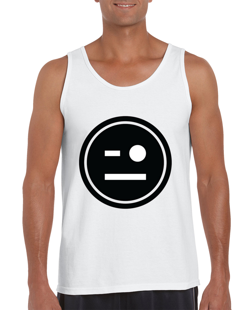 Johnny Gargano - Nxt Smiley Sticker Tank Top
