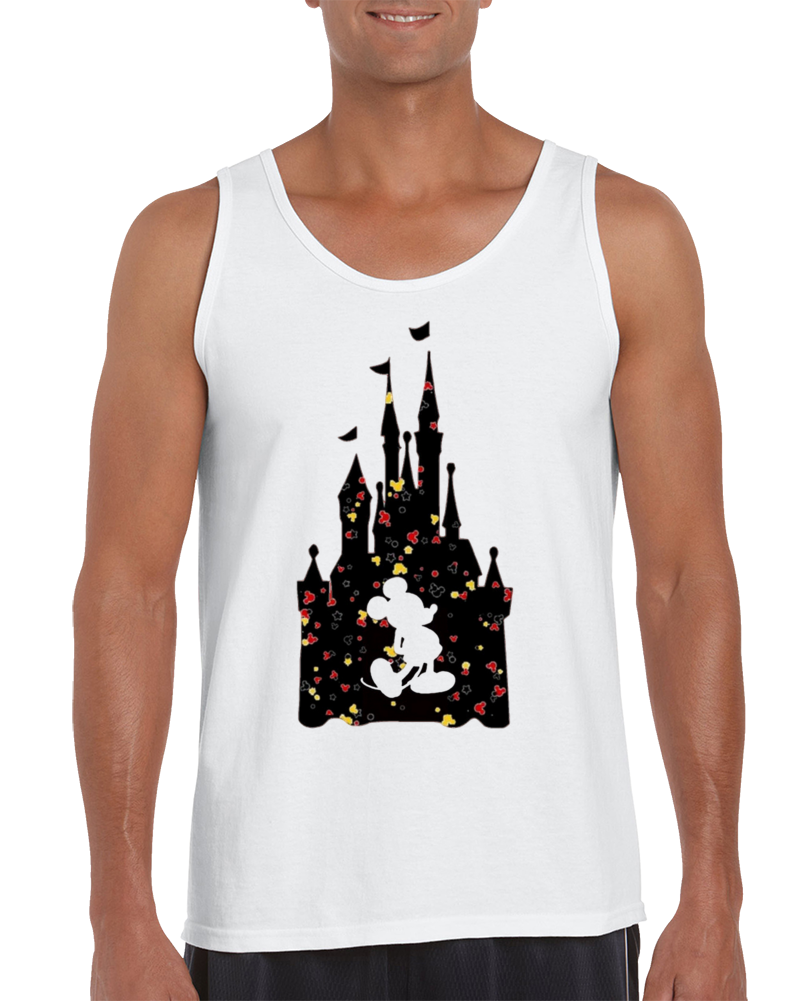 Mickey X Castle X Confetti Tank Top