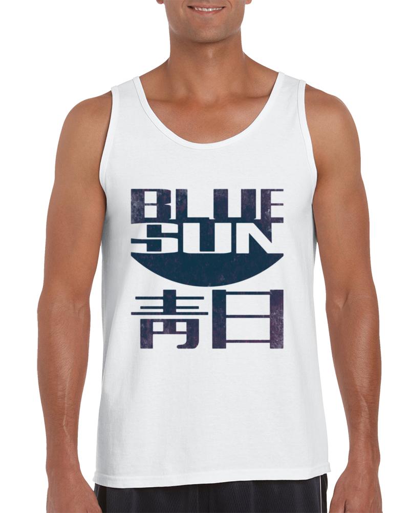 Jayne's Blue Sun Tank Top