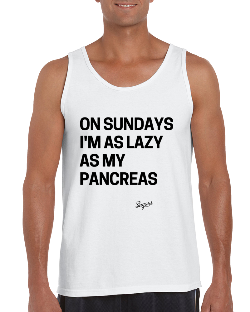 As Lazy As My Pancreas Tank Top