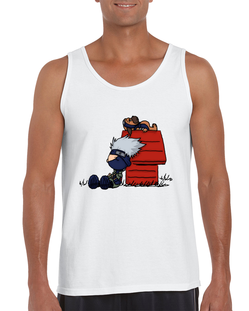 The Kakashi & Pakkun Show Tank Top